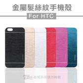 HTC Desire 820 髮絲紋手機殼超薄金屬拉絲硬殼背蓋保護套金屬髮絲