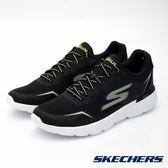 SKECHERS 男鞋 跑步系列 GO Run 400 入門輕量慢跑鞋 - 黑x綠 54355BKLM