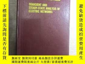 二手書博民逛書店Transient罕見and steady-state anal