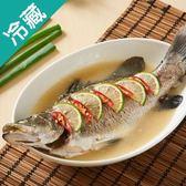 【鮮美細嫩】金目鱸魚1尾(300~400g/尾)【愛買冷藏】