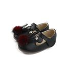 HABU 娃娃鞋 休閒鞋 黑色 童鞋 MM60-BK no015