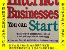 二手書博民逛書店The罕見Best Internet Businesses Yo