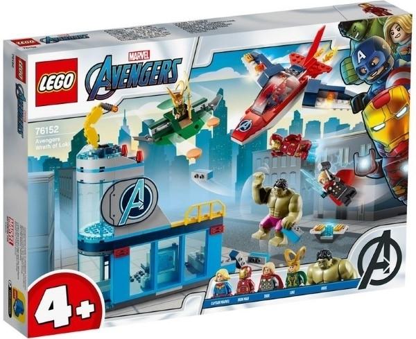 【LEGO樂高】SUPER HEROS 復仇者 洛基之怒  #76152