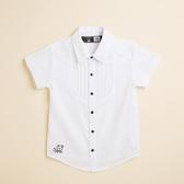 【金安德森】KA花童款純棉襯衫 (黑釦)(105-125)