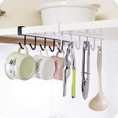 廚房鐵藝無痕免釘掛鉤櫥柜收納掛架排鉤