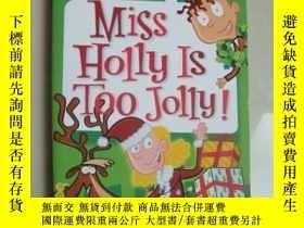 二手書博民逛書店My罕見Weird School #14: Miss Holly