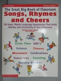【書寶 書T1 /語言學習_PBK 】The Great Big Book of Classroom Song ,Rhymes and Cheers