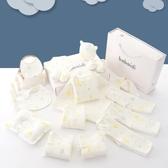 嬰兒衣服純棉新生兒禮盒春秋套裝夏季禮物剛出生初生滿月寶寶用品