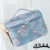 化妝包 ins網紅化妝包女便攜韓國簡約大容量化妝袋箱少女心洗漱品收納盒