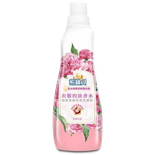 熊寶貝 香水精華柔軟護衣精(典雅玫瑰)700ml【愛買】