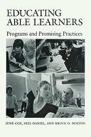 二手書博民逛書店 《Educating Able Learners: Programs and Promising Practices》 R2Y ISBN:0292703872
