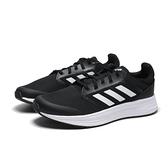 ADIDAS 慢跑鞋 GALAXY 5 黑白 三線 網布 輕量 運動 女 (布魯克林) FW6125