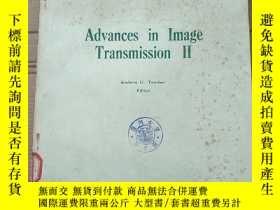 二手書博民逛書店advances罕見in image transmission II(P2783)Y173412