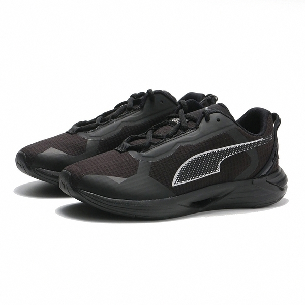 PUMA 休閒鞋 MINIMA FM MONO 黑銀 拼接 異材質 慢跑 情侶 男女 (布魯克林) 19400101
