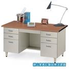 U型 辦公桌 電腦桌 UD-147H 櫸木紋
