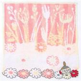 日本嚕嚕米小不點毛巾方巾刺繡橘花朵636260通販屋