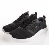 SKECHERS系列- BOUNDER 男休閒運動慢跑鞋-NO.52504WBLK