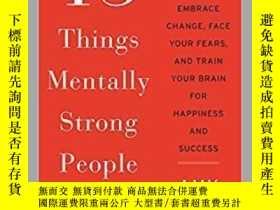 二手書博民逛書店精神強大的人不會做的13件事罕見13 Things Mental