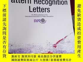 二手書博民逛書店Pattern罕見Recognition Letters Vol