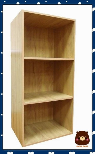 三層櫃  限宅配 木紋 書櫃 置物櫃 生活大師 307