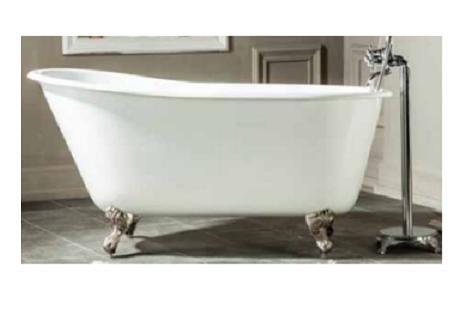 【麗室衛浴】BATHTUB WORD 高級獨立式鑄鐵浴缸 H-521 1370*750*H650mm