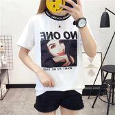 換季清倉-衣服新款女網紅同款韓系chic上衣學生寬鬆貼布短袖T恤女時髦(5折下殺)