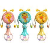 搖鈴 嬰兒手搖鈴玩具0-3個月撥浪鼓男寶寶牙膠6-12個月新生兒女孩0-1歲【小天使】