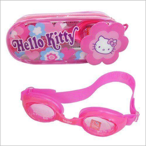 成功 KITTY全矽膠兒童泳鏡 A632
