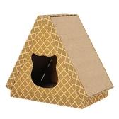 貓抓板瓦楞紙大號貓爪板立式磨爪器貓窩抓柱紙箱耐磨貓咪玩具用品