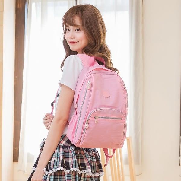 COUNT DUCK 美系悠活輕量大容量後背包-CD-016粉色