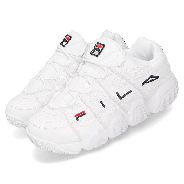 Fila 老爹鞋 Barricade XT 97 Low 白 深藍 男鞋 女鞋 韓系 運動鞋 【ACS】 4B007T111