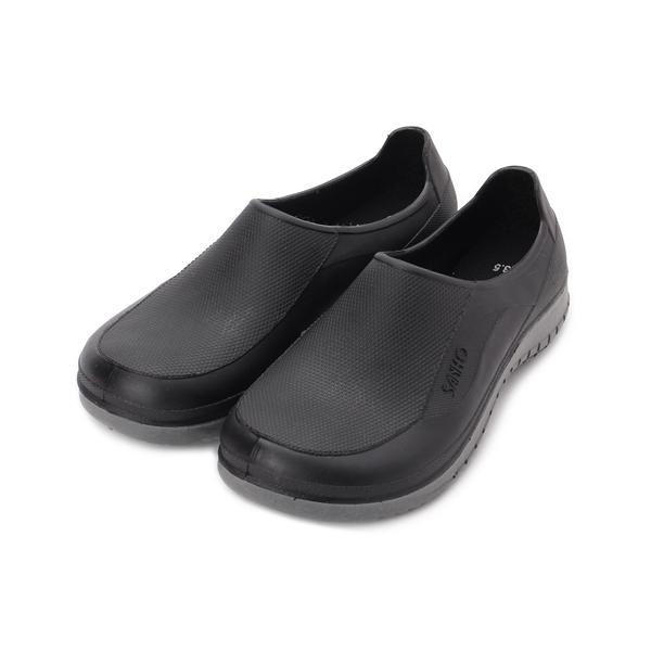 三和牌 雙色防水鞋 黑 女鞋 鞋全家福