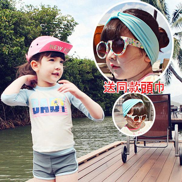 *╮小衣衫S13╭*中性款運動風全尺碼兒童泳裝 1040539