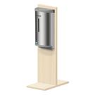 【MIT】桌上型 不鏽鋼壁掛式酒精噴霧機 800ml大容量HK-MSD 泡沫皂液 給皂機 酒精機