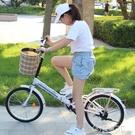 可折疊自行車女超輕便攜單車小型輪16寸20上班變速成年大人成人男 電購3C
