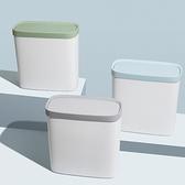 按壓式垃圾桶帶蓋家用創意客廳極衛生間有蓋拉圾筒【白嶼家居】