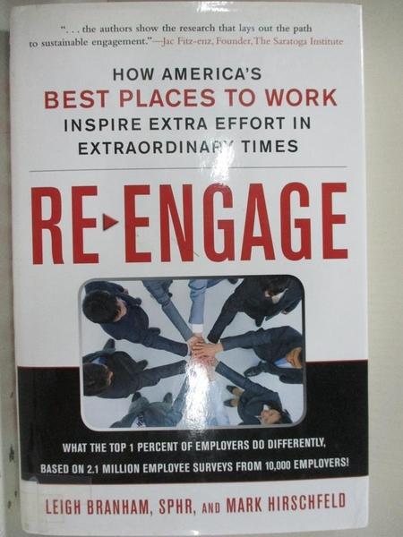 【書寶二手書T1/傳記_EHK】Re-Engage: How America's Best Places to Work Inspire Extra..