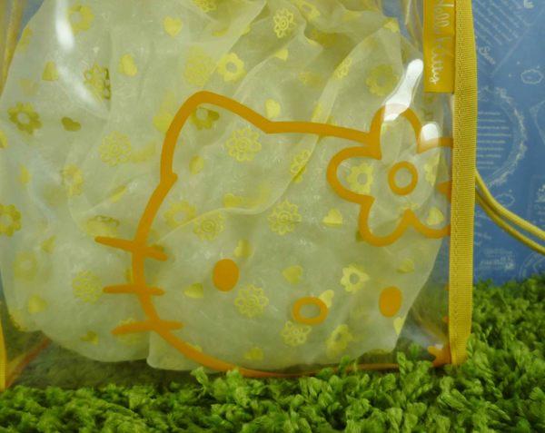 【震撼精品百貨】Hello Kitty 凱蒂貓~透明防水袋~黃【共1款】