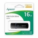 全新 Apacer AH355 16GB USB3.2隨身碟黑 ( AP16GAH355B-1 )