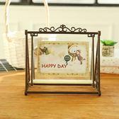 秋千長椅相框可愛寶寶像框兒童擺臺擺件5-6小7寸創意組合相架