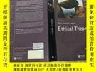 二手書博民逛書店Ethical罕見Theory 倫理理論Y2209 Russ Shafer-landau Wiley-blac