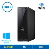 DELL 3471-R1308STW  第9代I3 雙核W10迷你電腦