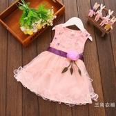 洋裝女寶寶洋裝夏裝2019 新款女童兒童童公主裙小童紗紗裙子1-2-3歲