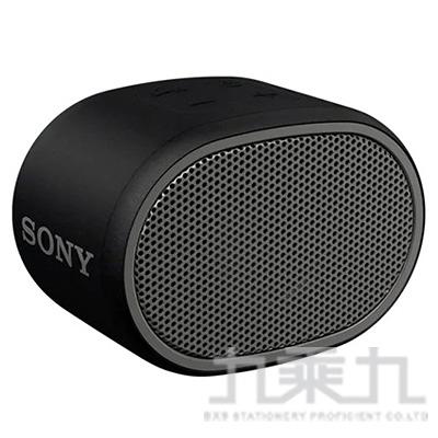 SONY 攜帶式藍芽喇叭 SRS-XB01 黑