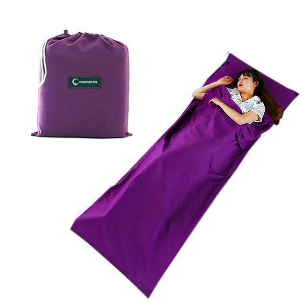 [7-11限今日299免運]睡袋 便攜式室內隔髒睡袋 戶外旅遊成人睡袋 標準✿mina百貨✿【F0149】