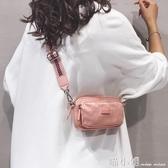 ins時尚小包包女斜背包2020新款尼龍布包彩色寬帶單肩手機小方包 喵小姐