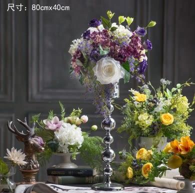 模擬花假花 套裝 花藝 客廳餐桌 裝飾花 花瓶花束 -bri02063