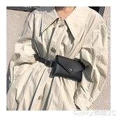 【榮耀3C】皮帶腰包 能裝手機零錢鑰匙腰包皮帶女包包裝飾潮腰帶風可拆卸褲帶掛包