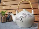 ~佐和陶瓷餐具~【82GA004 日式茶壺(白梅)】/泡茶壺/熱茶壺/有把/