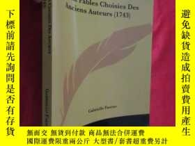 二手書博民逛書店Cent罕見Fables Choisies Des Anciens Auteurs (16開) 【詳見圖】Y5